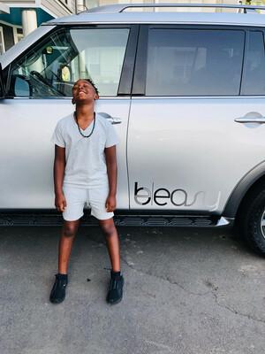 BEASY KID'S V-NECK SHIRT & SHORT SET