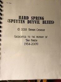 HARD SPRING:  Spuyten Duyvil Blues