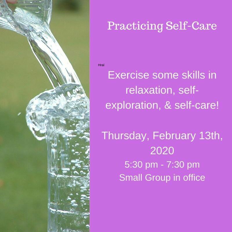 Practicing Self-Care 2/13