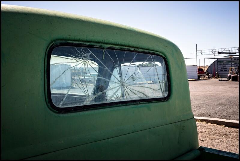 Old Pickup Truck, Marfa Burrito - Marfa, TX