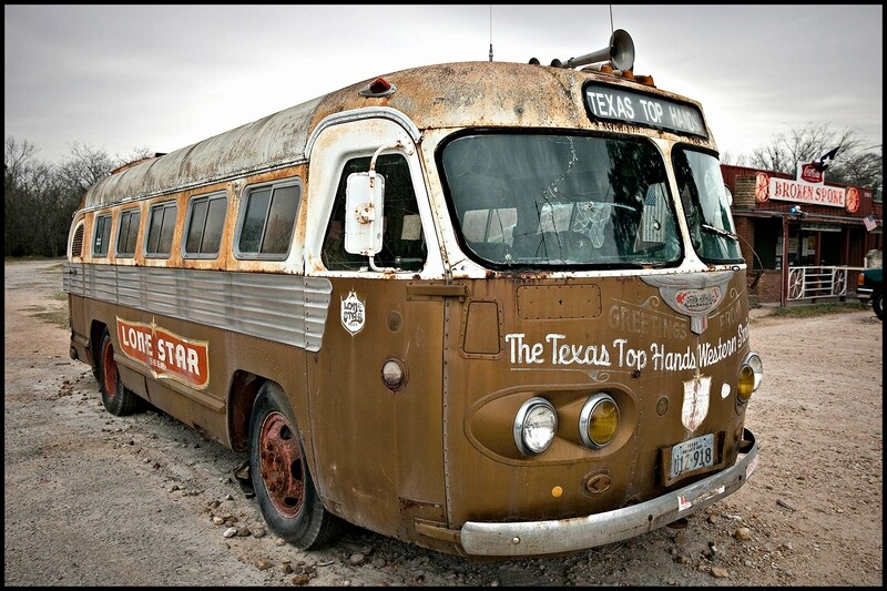 Texas Top Hands Tour Bus, The Broken Spoke - Austin, TX