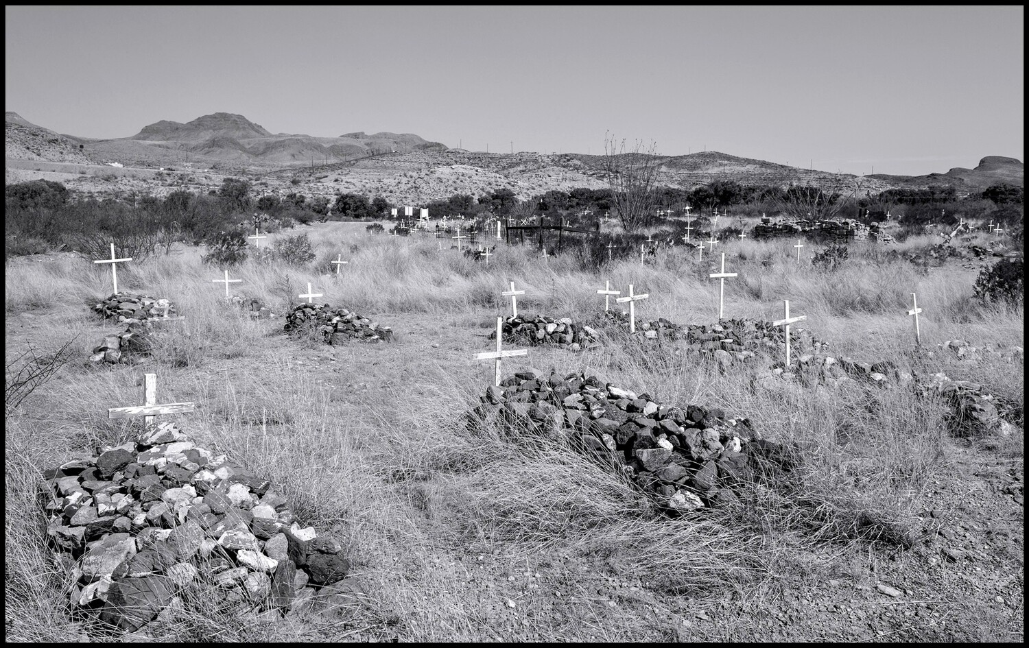 Cemetery - Shafter, TX