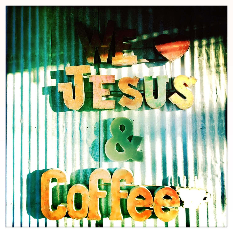 We Love Jesus & Coffee - Gruene, TX