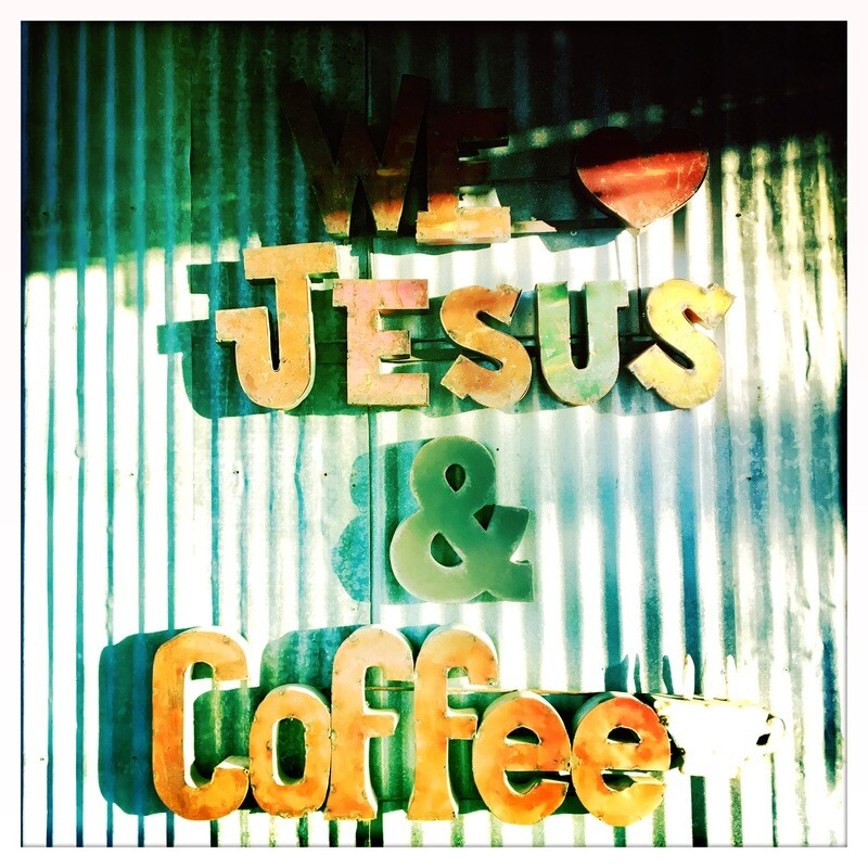 We Love Jesus & Coffee - Gruene, TX