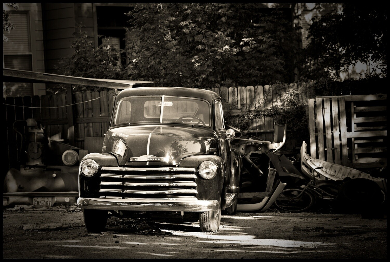 Old Chevy, South Congress Street - Austin, TX