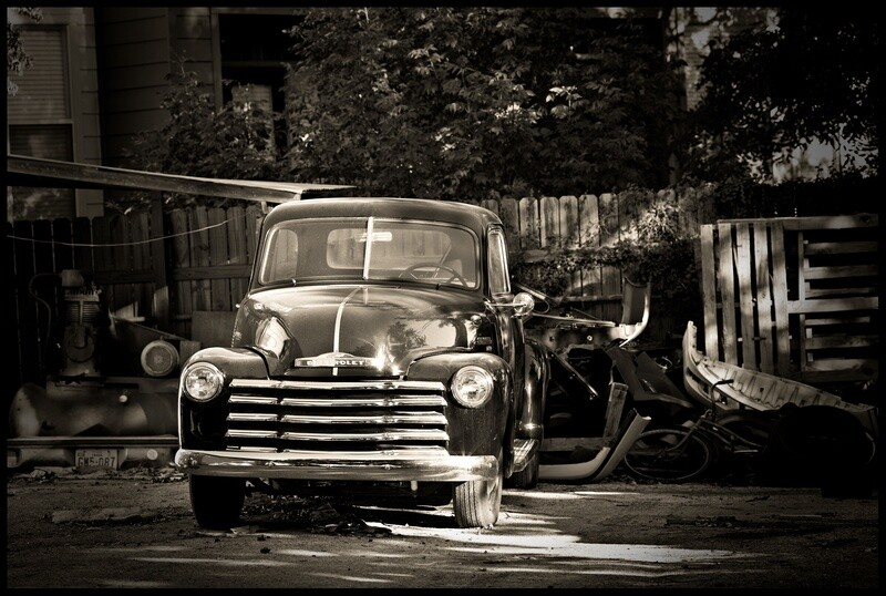 Old Chevy, South Congress Street - Austin, TX