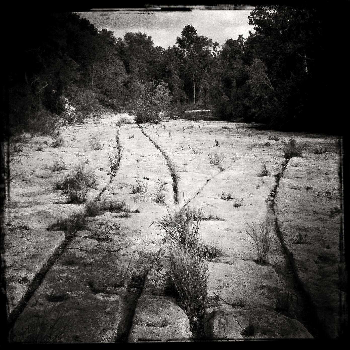 Wagon Tracks, Bull Creek - Austin, TX