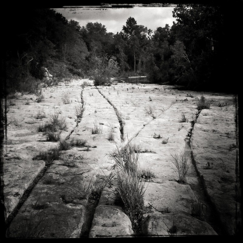 Wagon Tracks, Bull Creek - Austin, TX