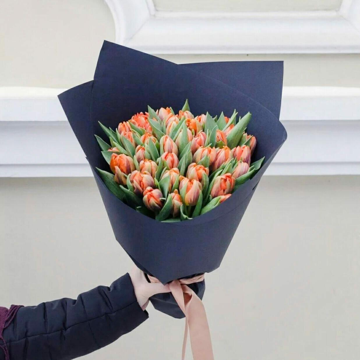 51 рыжий тюльпан