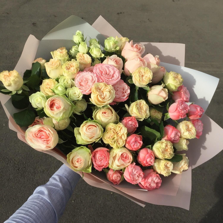 Букет кустовых роз «Милана»