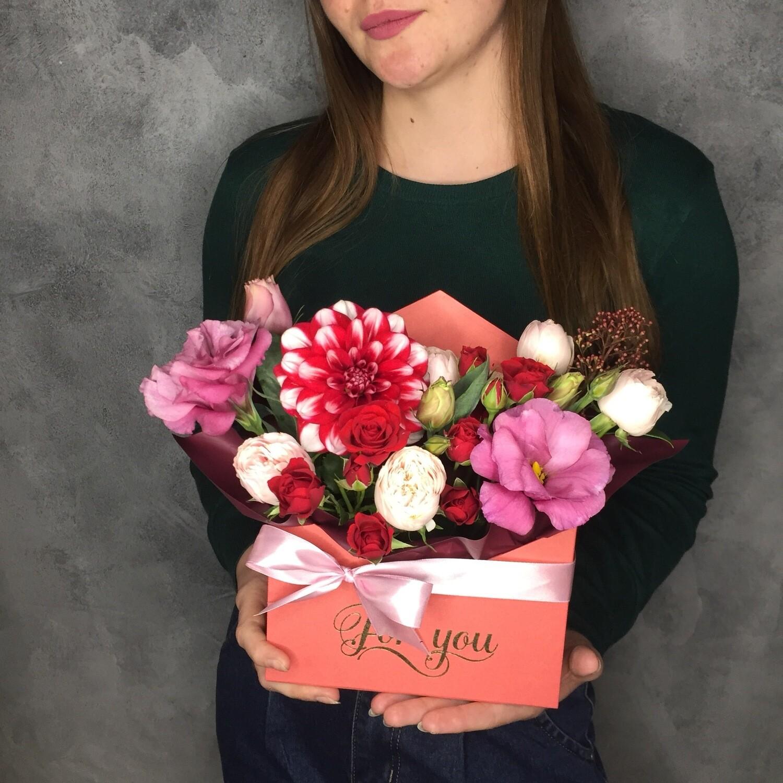 Цветочное Послание «Романтика»