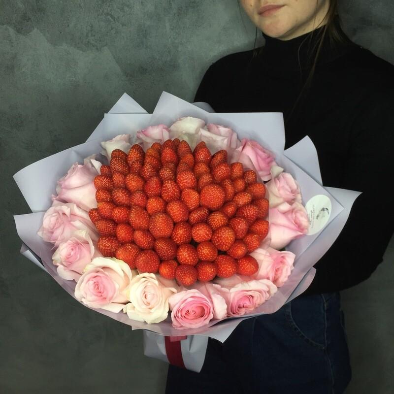 Клубничный букет «Мила»