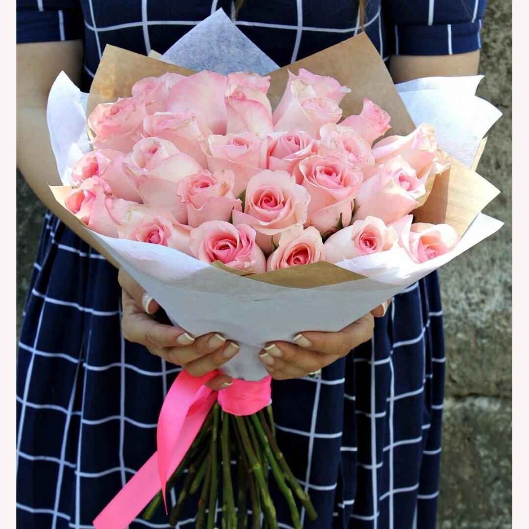21 нежная роза Эквадор