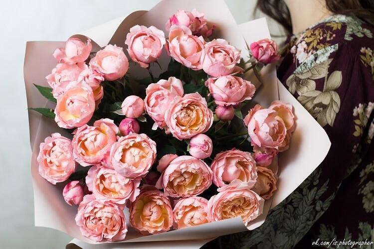 """Букет кустовых роз """"Джульетта"""""""