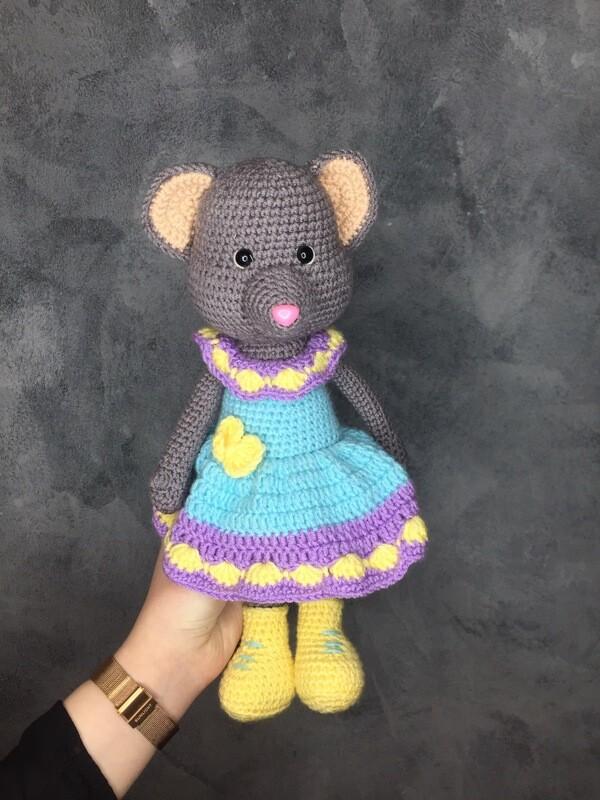 Игрушка ручной работы «Мышка Маша»