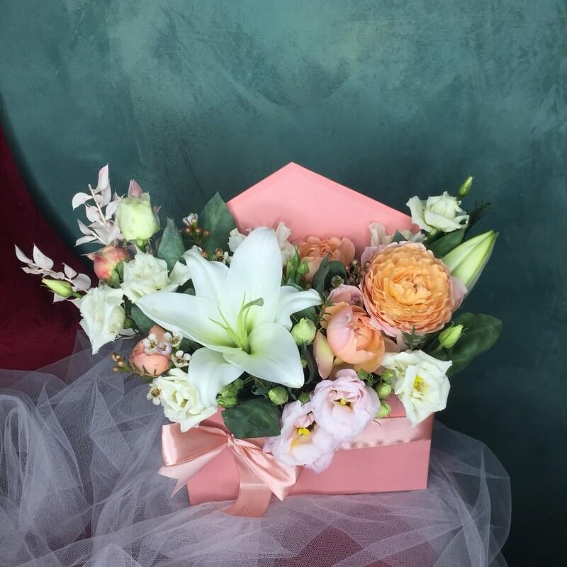 Цветочное послание «Дарина»
