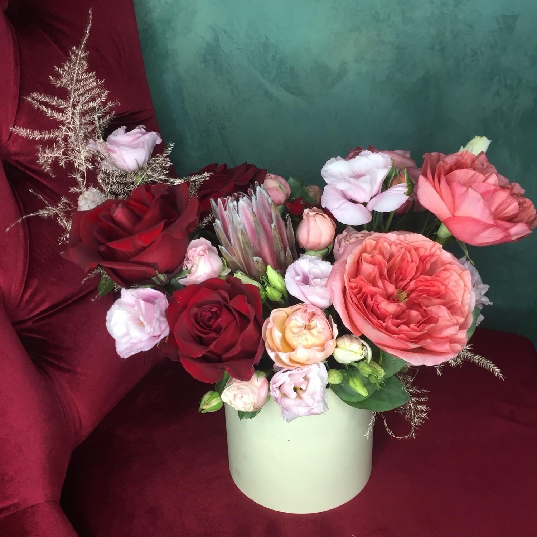 Авторская Цветочная Коробочка «Анисия»
