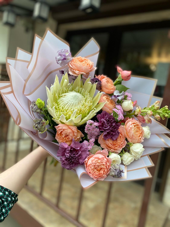 """Авторский букет цветов """"Лондон"""""""