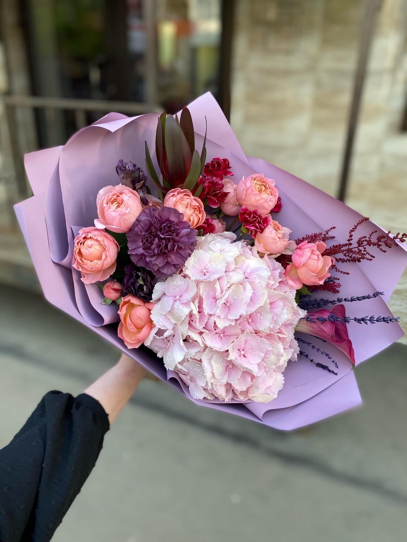 """Авторский букет цветов """"Альвина"""""""
