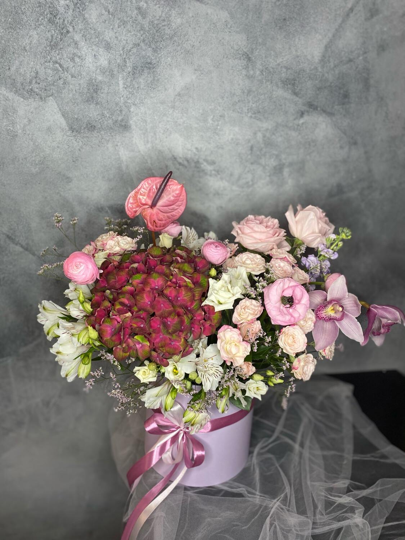 """Авторская Коробочка цветов """"Дили"""""""