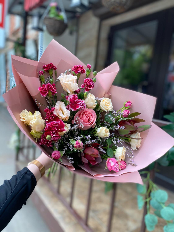 """Авторский букет цветов """"Аланис"""""""
