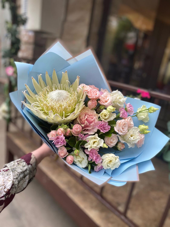 """Авторский букет цветов """"Пальмир"""""""