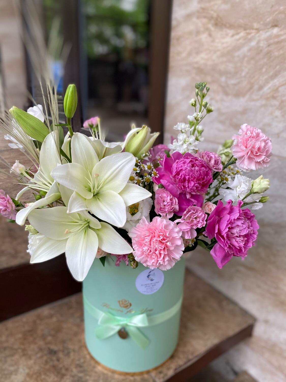 Авторская Коробочка цветов