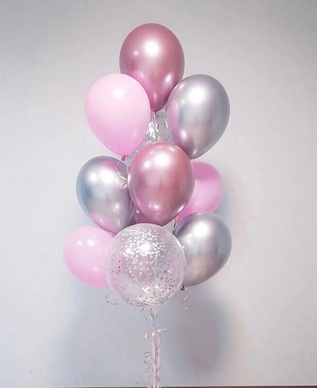 Воздушные шары микс 11шт