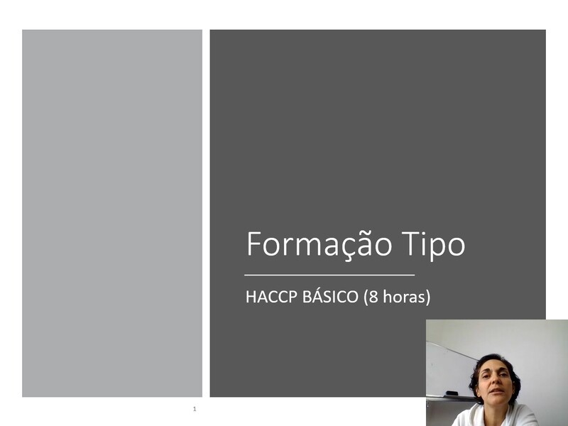 Modelos de formação HACCP 8 horas