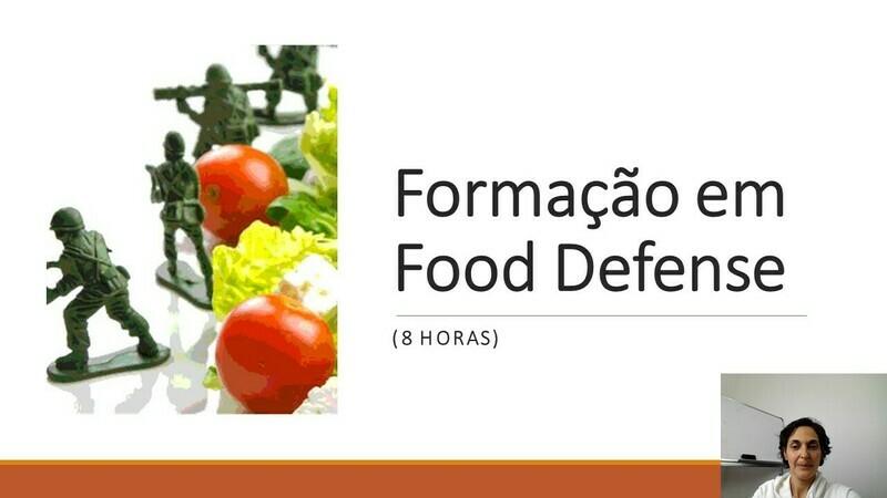 Modelos de formação Food Defense - 8 horas