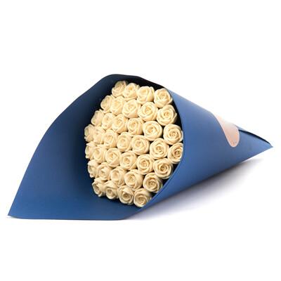 Букет из 37 шоколадных роз