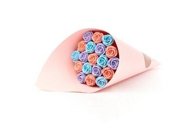 Букет из 19 шоколадных роз