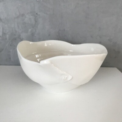 petit bol blanc en porcelaine