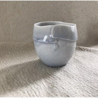 verre à café ou thé petit bleu