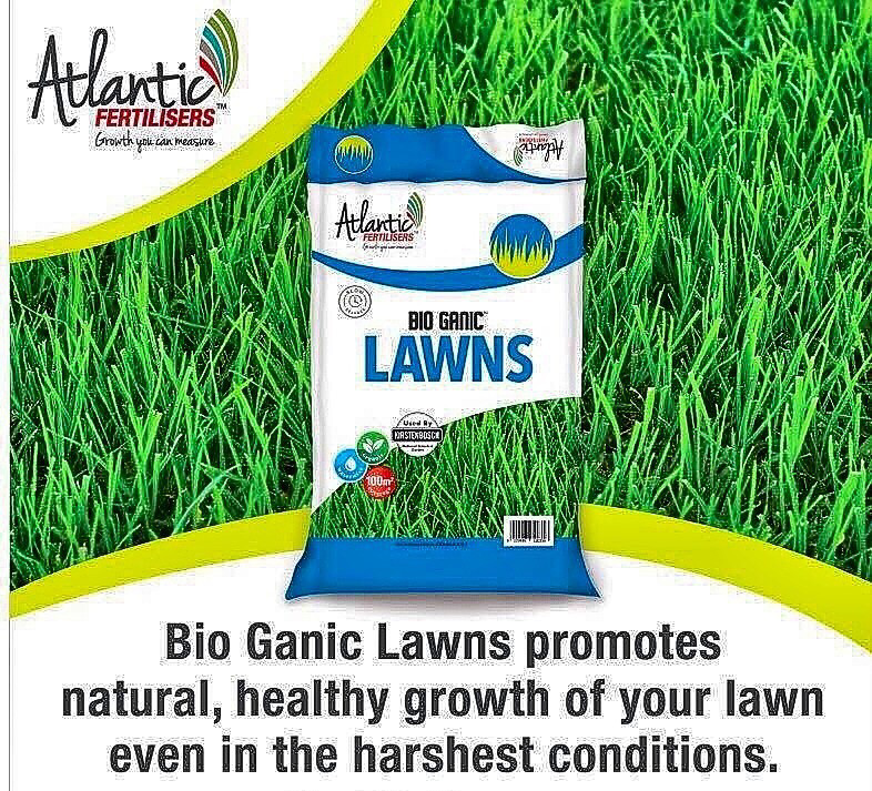 Atlantic Bio Ganic for Lawns In crumble form for easy application 10KG