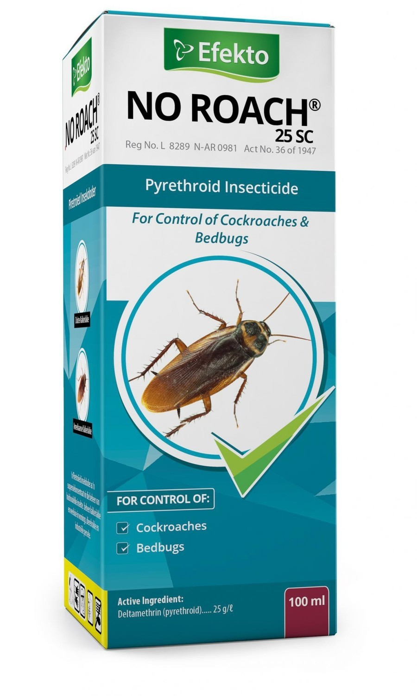 Efekto No Roach 25 SC 100ml