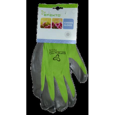 Efekto Green Nitrile Gloves Small