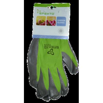 Efekto Green Nitrile Gloves Large
