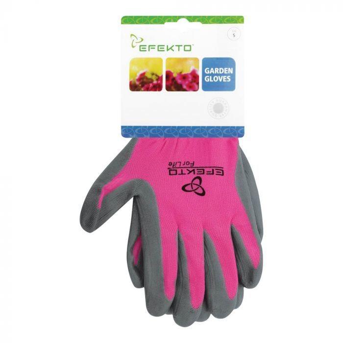 Efekto Pink Nitrile Gloves Large