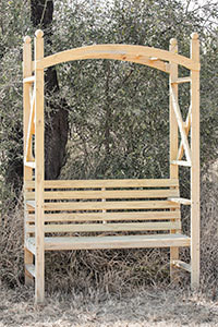 Colonial Arbour Bench 1220x700x2200