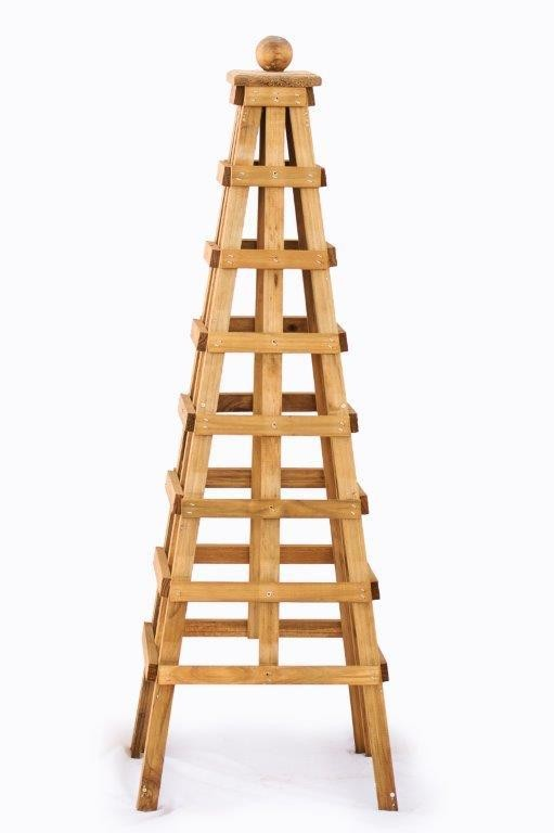 Wooden Obelisk Small H1200mm x W350mm