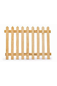 Wooden Picket Fence H300mm x W1200mm