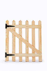Wooden Picket Gate H600mm x W780mm