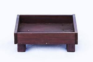 Wooden Ground Bird Feeder tray