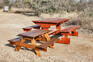 Wooden Picnic Kiddies Bench L1200mm x W650mm