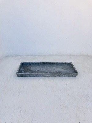 Drip Tray Rectangular Whitewash Finish - W250mm x L520mm - 5kg