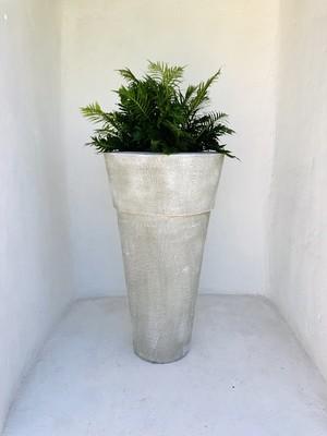 Jade Pot Extra Large Whitewash Finish - H1000mm x W570mm - 50kg