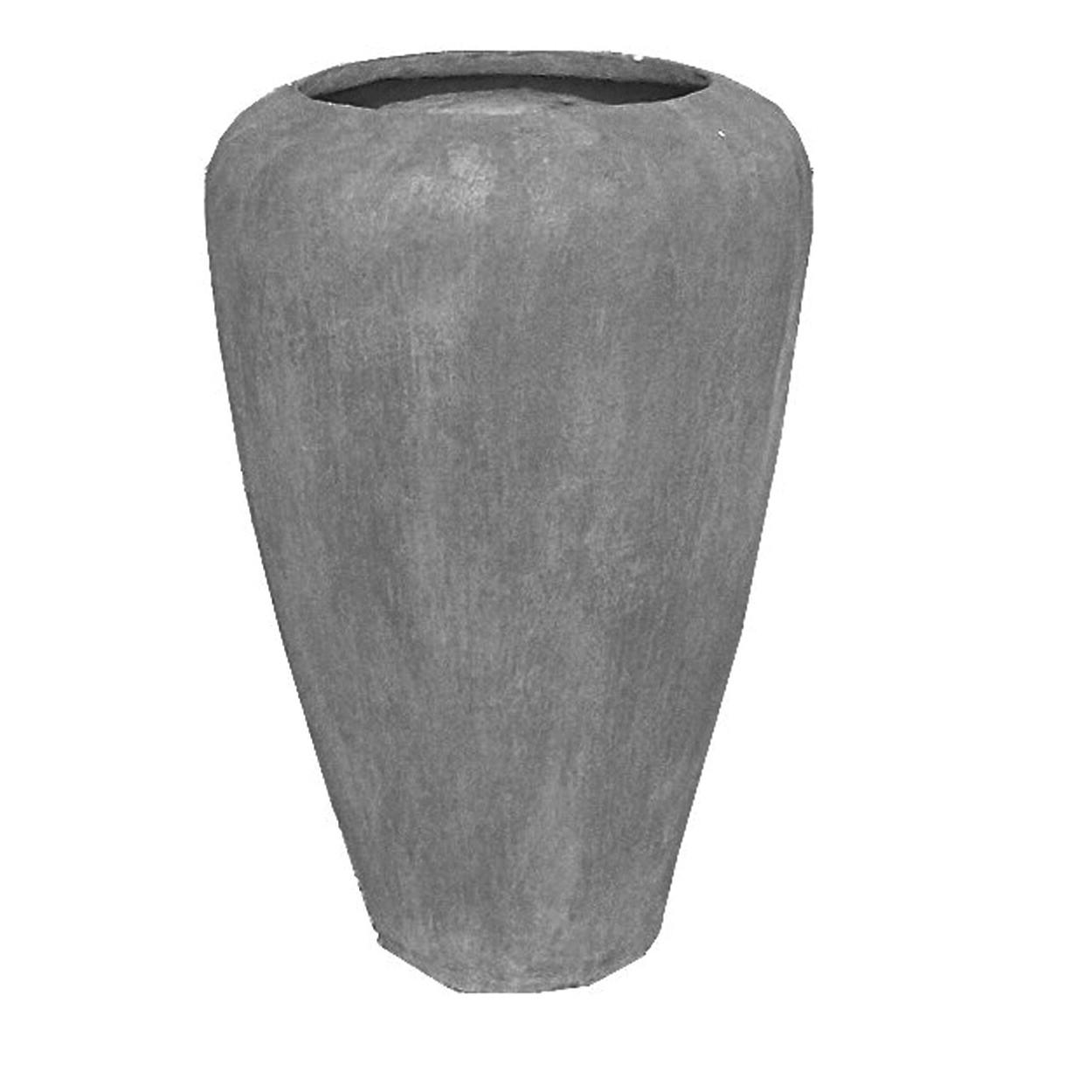 Ansie Vase Classic Large Whitewash Finish - H630mm - 32kg