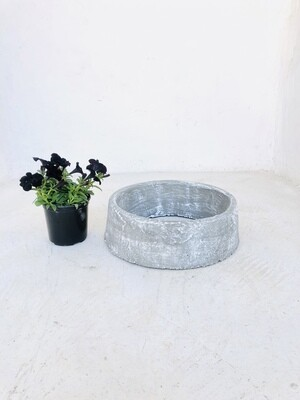 Tree Ring Small Complete Whitewash Finish - W400mm - 11kg