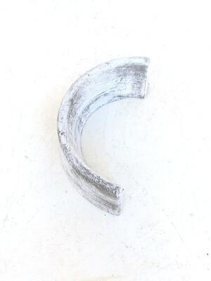 Tree Ring Small Half Whitewash Finish - 6kg - two make W400mm